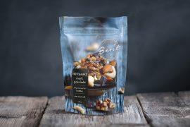 Nøttemiks med mørk sjokolade fra Made By Berit Nordstrand