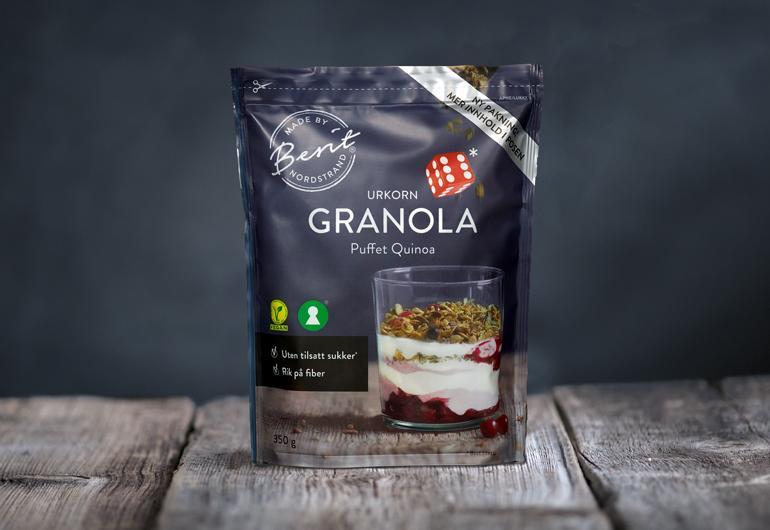 Sukkerfri Granola