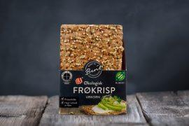 Økologisk Frøkrisp Urkorn er et sunt knekkebrød fra Made By Berit Nordstrand