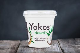 Yokos Naturell fra Made by Berit Nordstrand er et plantebasert alternativ til yoghurt