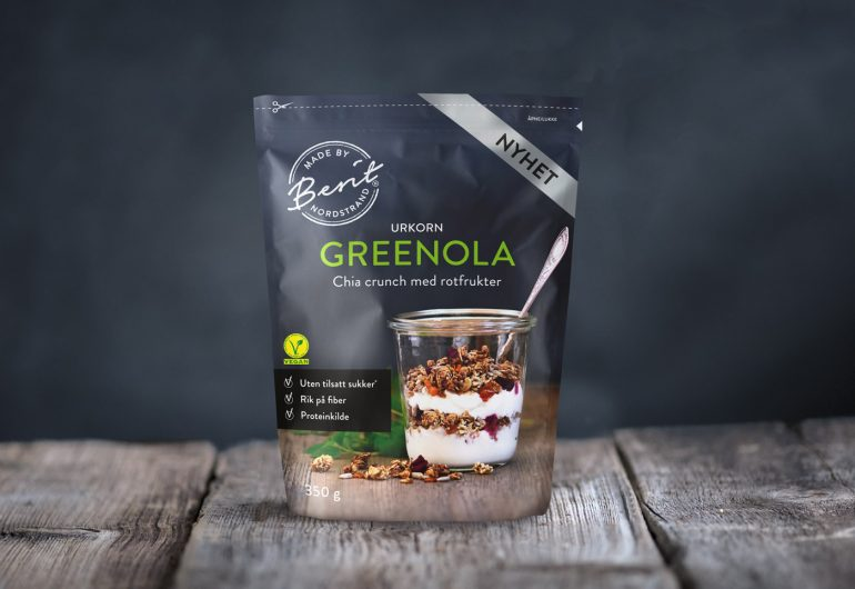 Vegansk granola fra Made By Berit Nordstrand