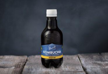 Drikkeklar kombucha med ingefær fra Made By Berit Nordstrand