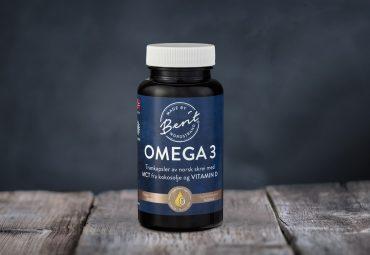 Trankapsler - Omega-3, MCT og vitamin D, Made By Berit Nordstrand