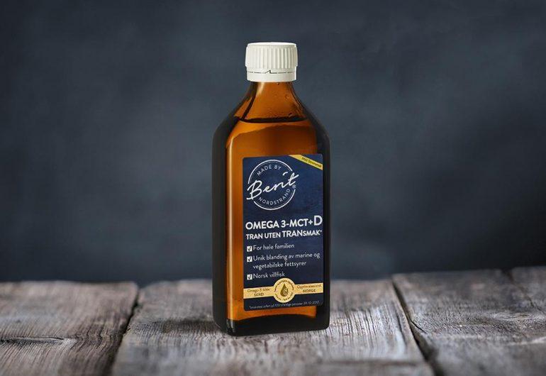 Omega 3-MCT+D tran fra Made By Berit Nordstrand