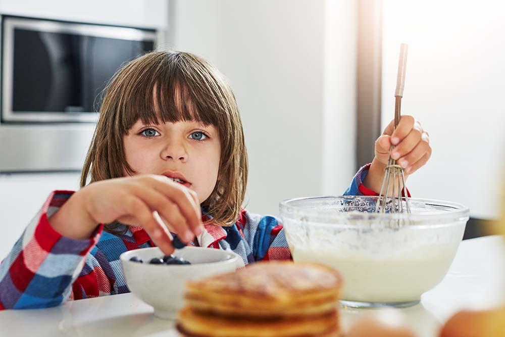 Sunne pannekaker til barn
