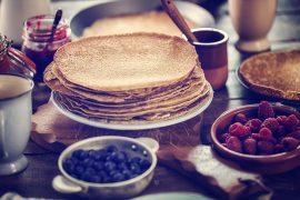 Pannekaker uten egg og melk