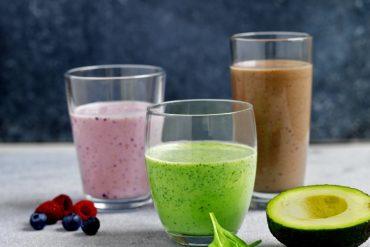 Grønn smoothie uten melk