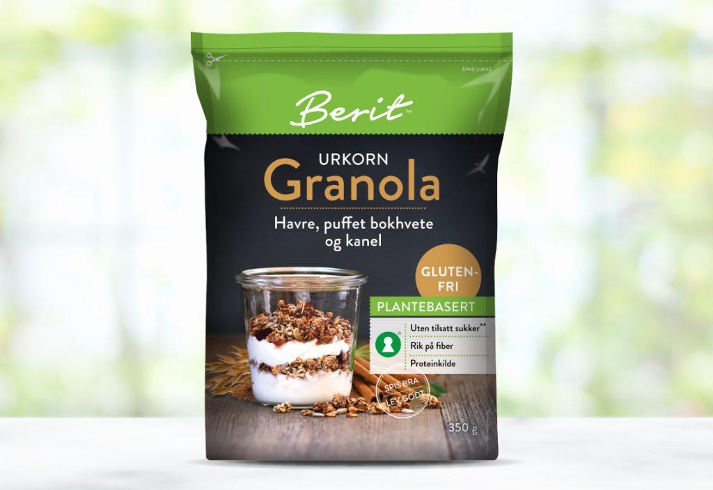 Berit glutenfri granola